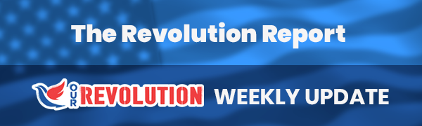 Our Revolution Monday Organizing Call @ Online