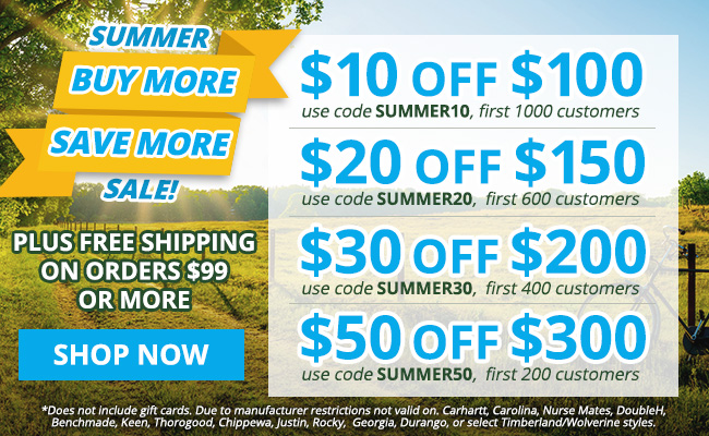 Take Up To $50 Off Your Order!