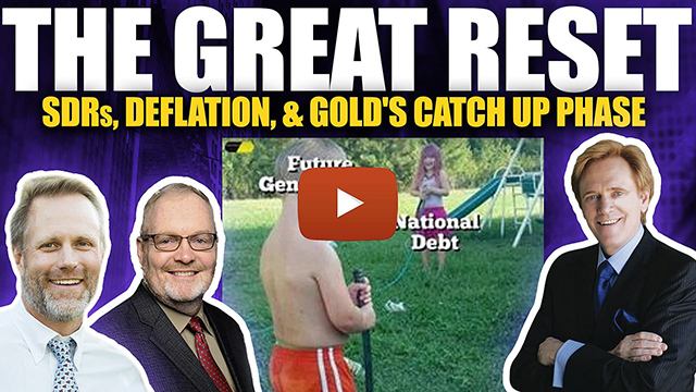 The Great Reset: SDRs, Deflation & Gold's Coming Catch Up Phase