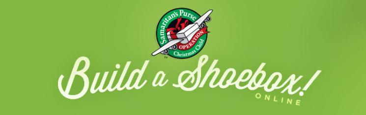 Build a Shoebox Online Goal Logo