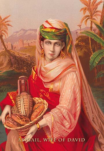 'Abigail, Wife of David' by Modern Graphic Art