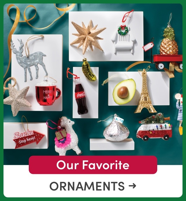 Our Favorite Ornaments
