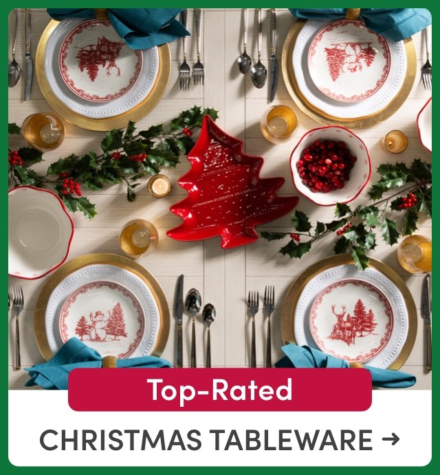 Top-Rated Christmas Tableware