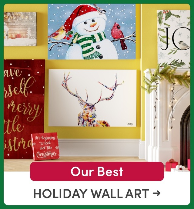 Our Best Holiday Wall Art Deals