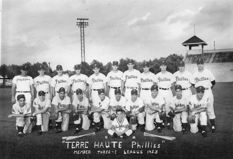 Image result for picture of the stadium at terre haute indiana terre haute phillies