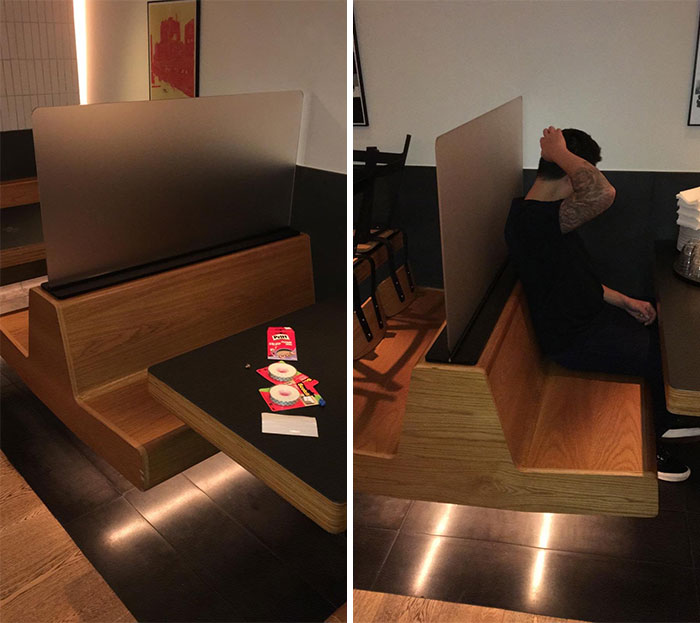 Yardbird In Hong Kong - We Just Designed These Retrofitted (Hopefully Temporary) Panels For Their Booths