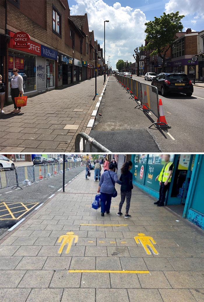 Kings Heath And Erdington High Streets Now Have More Space