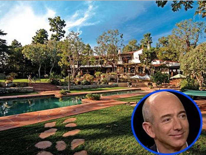 He also bought a seven-bedroom, $24.5 million mansion in Beverly Hills in 2007. There's a greenhouse, tennis court, pool, and guest house on the property, and it neighbors Tom Cruise's estate.
