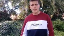 El joven, en una imagen del vídeo difundido el año pasado a través de Córdoba Laica