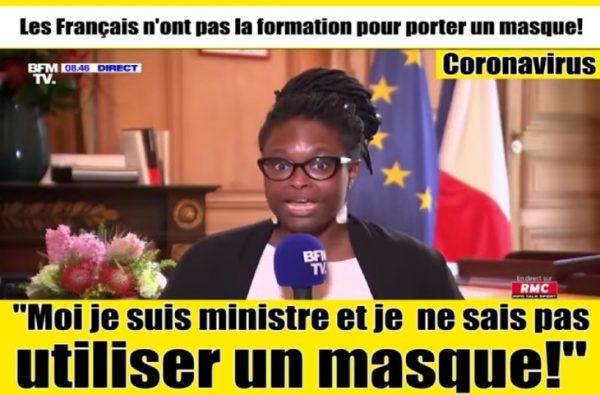 Ne riez pas ! Pour Sibeth Ndiaye « La crise du COVID19 favorise la propagation de fake news. Plus que jamais, il est nécessaire de se fier à des sources d'informations sûres et vérifiées »