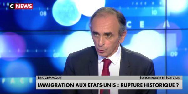 Zemmour : « L'immigration est très dangereuse pour les pays occidentaux. Il faut supprimer le regroupement familial, supprimer le droit du sol, des expulsions… » (Vidéo)
