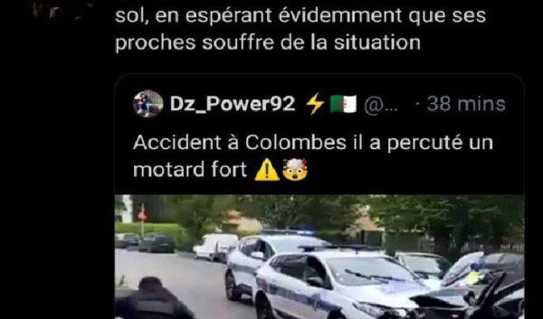 « Enfin une justice », « Œil pour œil », « wouala quel plaisir de voir son crane éclater » : les banlieues islamisées se réjouissent de l'attaque terroriste visant des policiers à Colombes