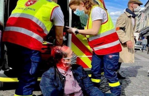 Paris : une procession organisée par le diocèse attaquée par des militants d'extrême-gauche, un fidèle blessé au crâne et hospitalisé (Vidéo)