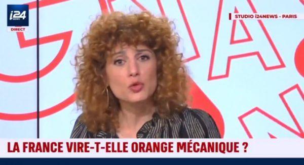 """Abnousse Shalmani : """"La France est le pays le plus redistributif. Ceux qui sont violents sont bien nourris et portent des baskets à 1.000 euros. Ce qu'on vit aujourd'hui, c'est à cause de l'héritage de merde de la gauche"""" (Vidéo)"""