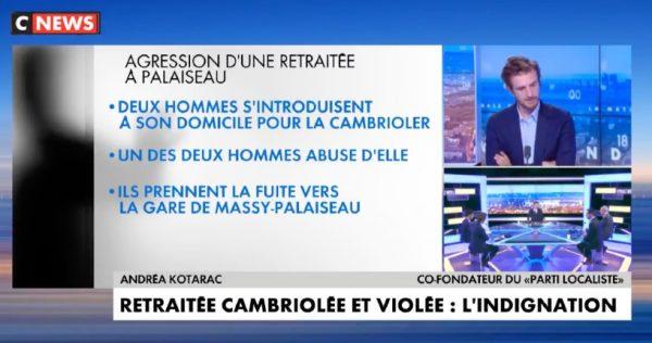 Sauvagerie à Palaiseau : une retraitée de 69 ans cambriolée et violée, 2 migrants algériens de 19 et 21 ans mis en examen, « Ce sont des barbares. Il faut établir un lien entre l'immigration et ces crimes » (Vidéo)