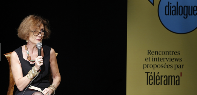 Fabienne Pascaud, directrice de la rédaction de « Télérama » depuis 2006.