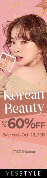 Korean Beauty Sale Up to 60% OFF!