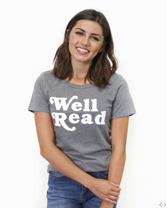 Book Lover Graphic Tees $16.95