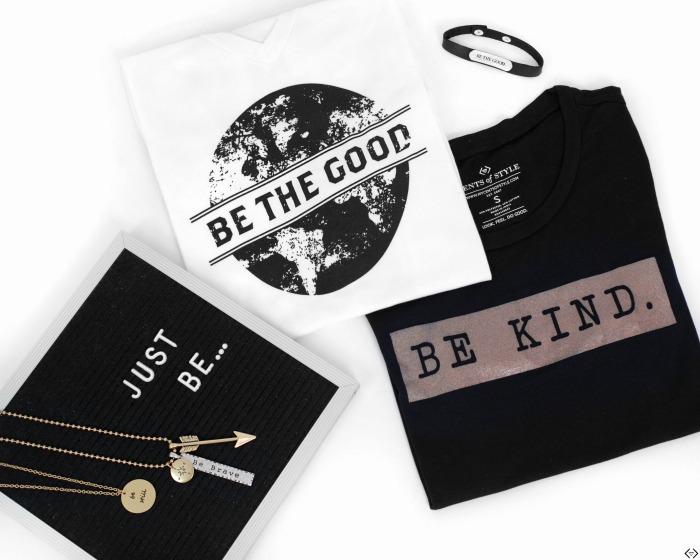 "$8.00 off ""Be"" Series Tees, Sweatshirts & Jewelry"