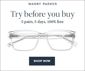 Warby Parker - Try before you buy