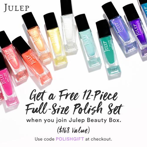 Full-Size Polish Set with Beauty Box Purchase