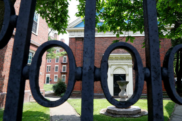 Harvard's campus