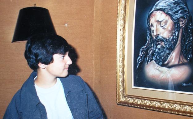 Aunque no solía pintar motivos religiosos, el Cristo de la Buena Muerte fue su cuadro más célebre