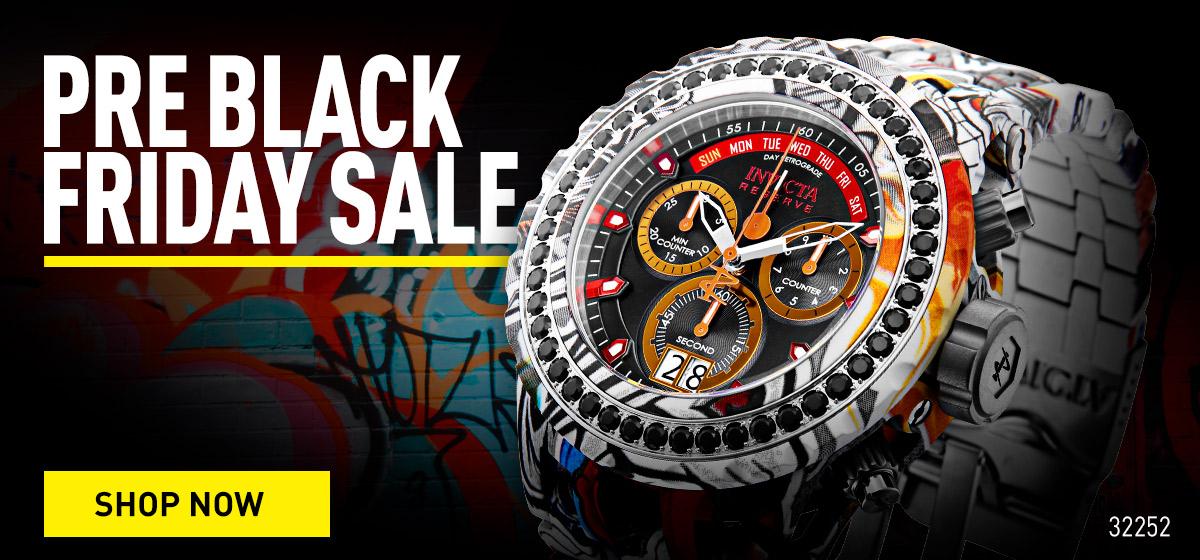 Pre Black Friday Sale. Shop now.