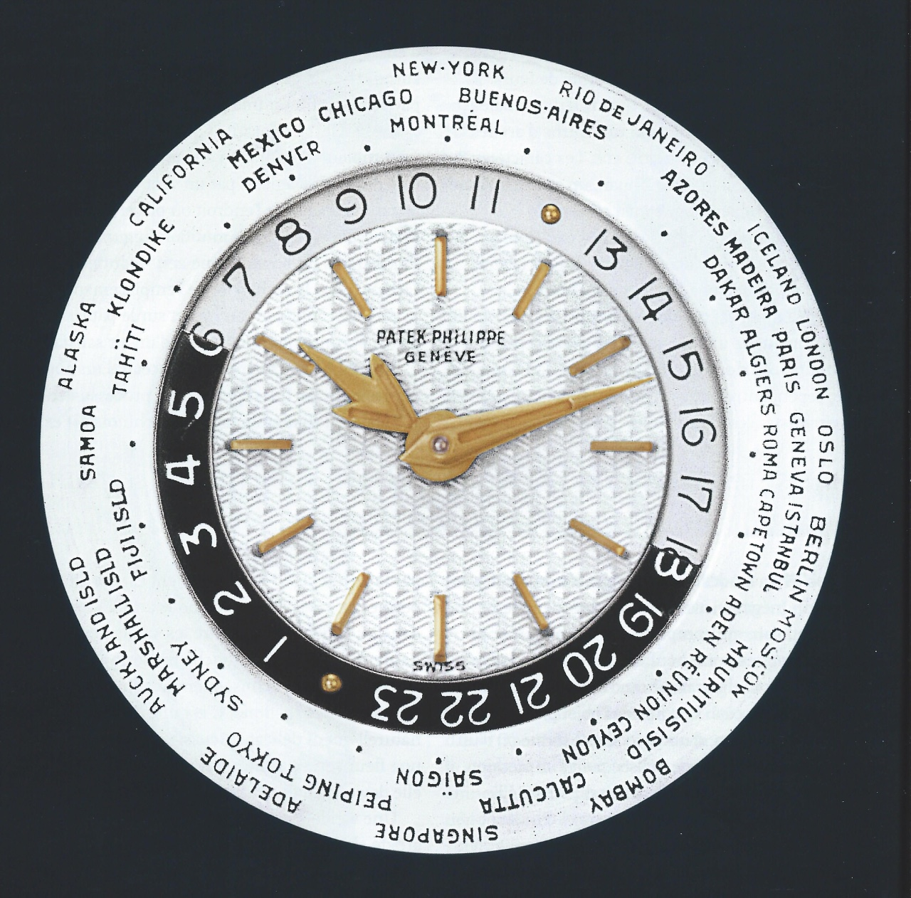 Patek Philippe - In depth Review: Patek Philippe 2523 Reference World Time.