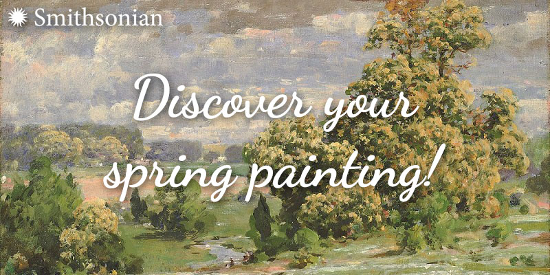 Discover your spring painting!