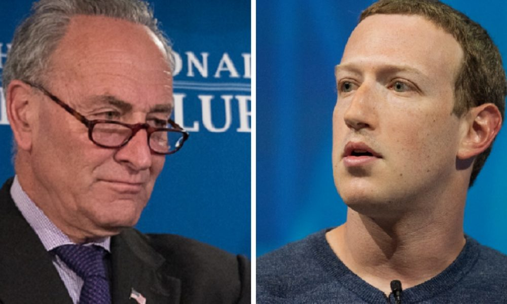 Facebook's Big $$ Ties To Chucky Schumer, And his Family Are Public, This Stinks To High Heaven
