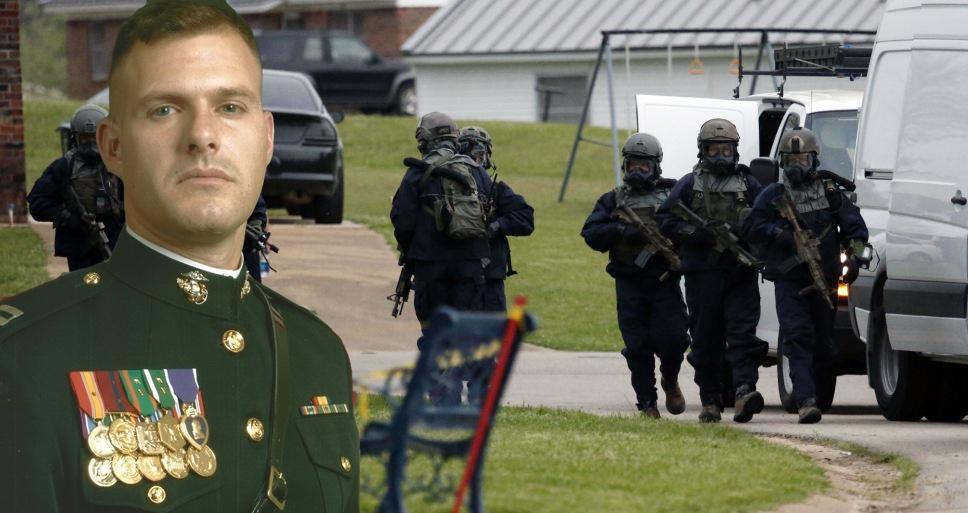 FBI Raids Home Of Combat Veteran Over Trump Rally, His Baby Dies The Next Day