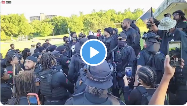 Watch: Armed Black Supremacists: '…We Will Kill Everything White in Sight' [Video]