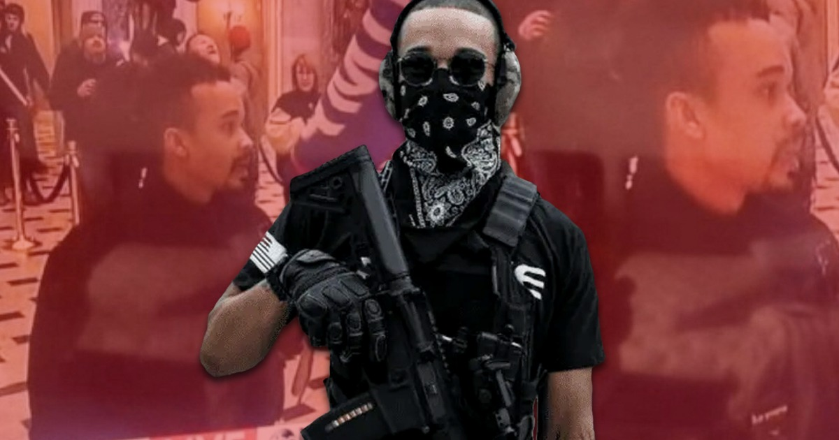 BLM/Antifa Agitator Who Broke Into Capitol On Jan 6th Dealings With Feds Exposed!