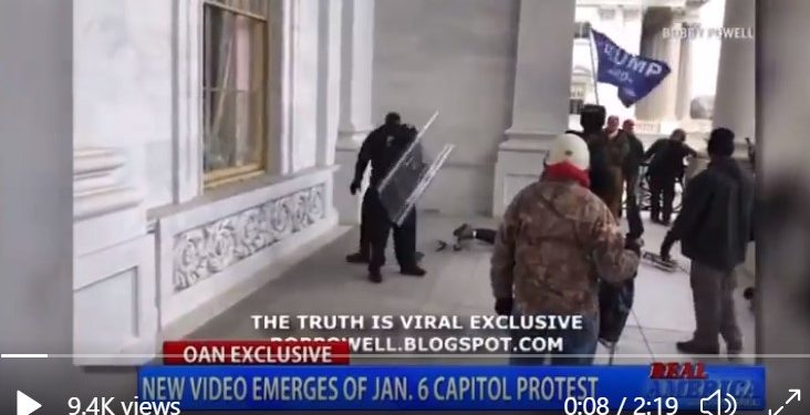 New Video Raises Questions About Who Was Really Being Targeted On Jan. 6th