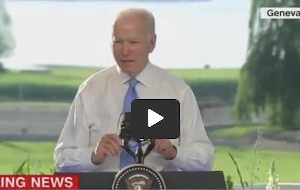 Biden Calls Trump Supporters Murderous 'Criminals' & BLM Peaceful Protesters [Video]