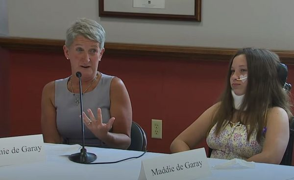 Video: Mother Breaks Down Crying Explaining How COVID Vaccine Shattered Her Daughter's Life