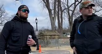 1/6: New Video Shows Proud Boys Did NOT Plan Attacks On Capitol