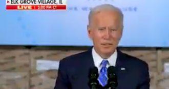 OMG Video: Biden's Brain Stops Working Mid Speech In Jaw Dropping Video Clip