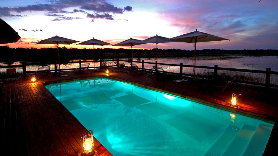 CHIEF'S CAMP, BOTSWANA