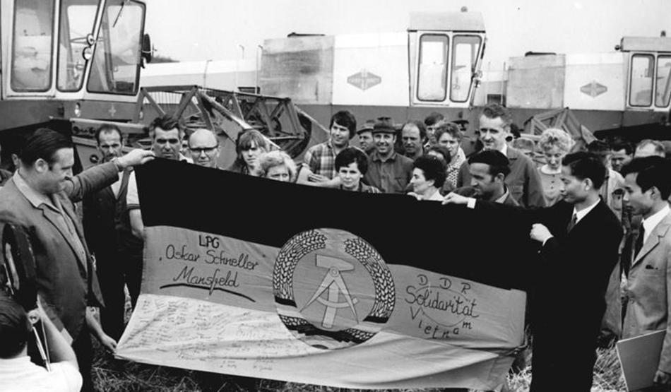 LPG Mansfeld, Solidaritätsbekundung mit Vietnam