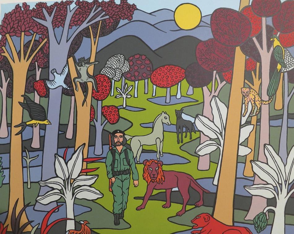 Alicia Leal (Cuba), Un soldado de América, 1997.