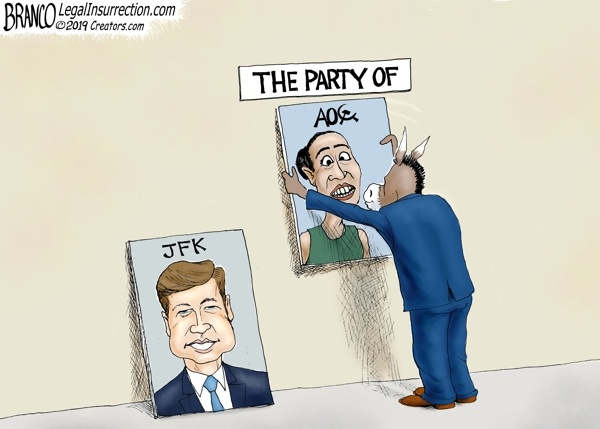 Cartoon - The Party of AOC