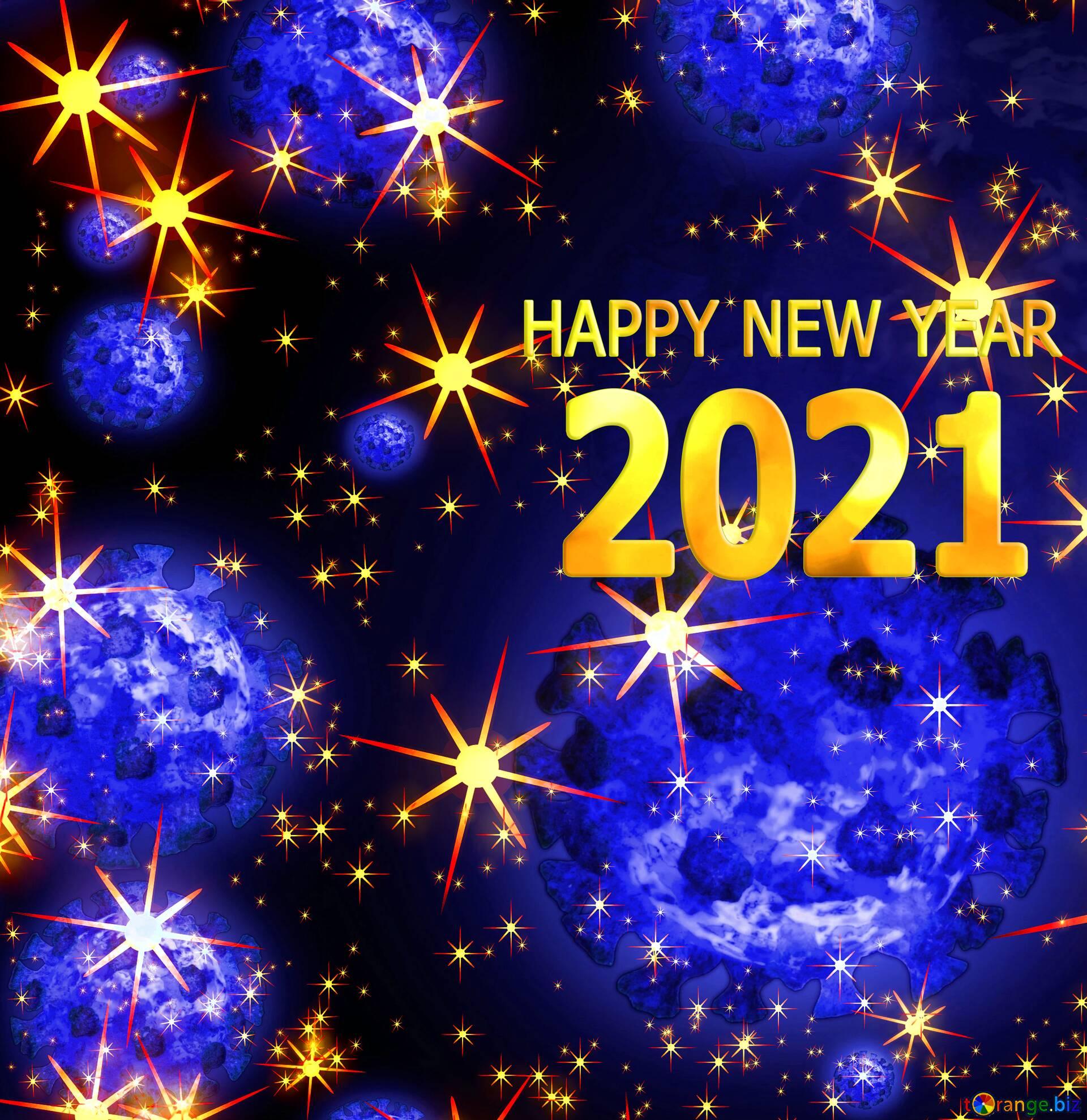 Завантажити безкоштовно світлину Covid 19 Happy New Year 2021 background  використовувати з вказаннням авторства ~ Безкоштовний фотобанк tOrange.biz  ~ ефект №221395