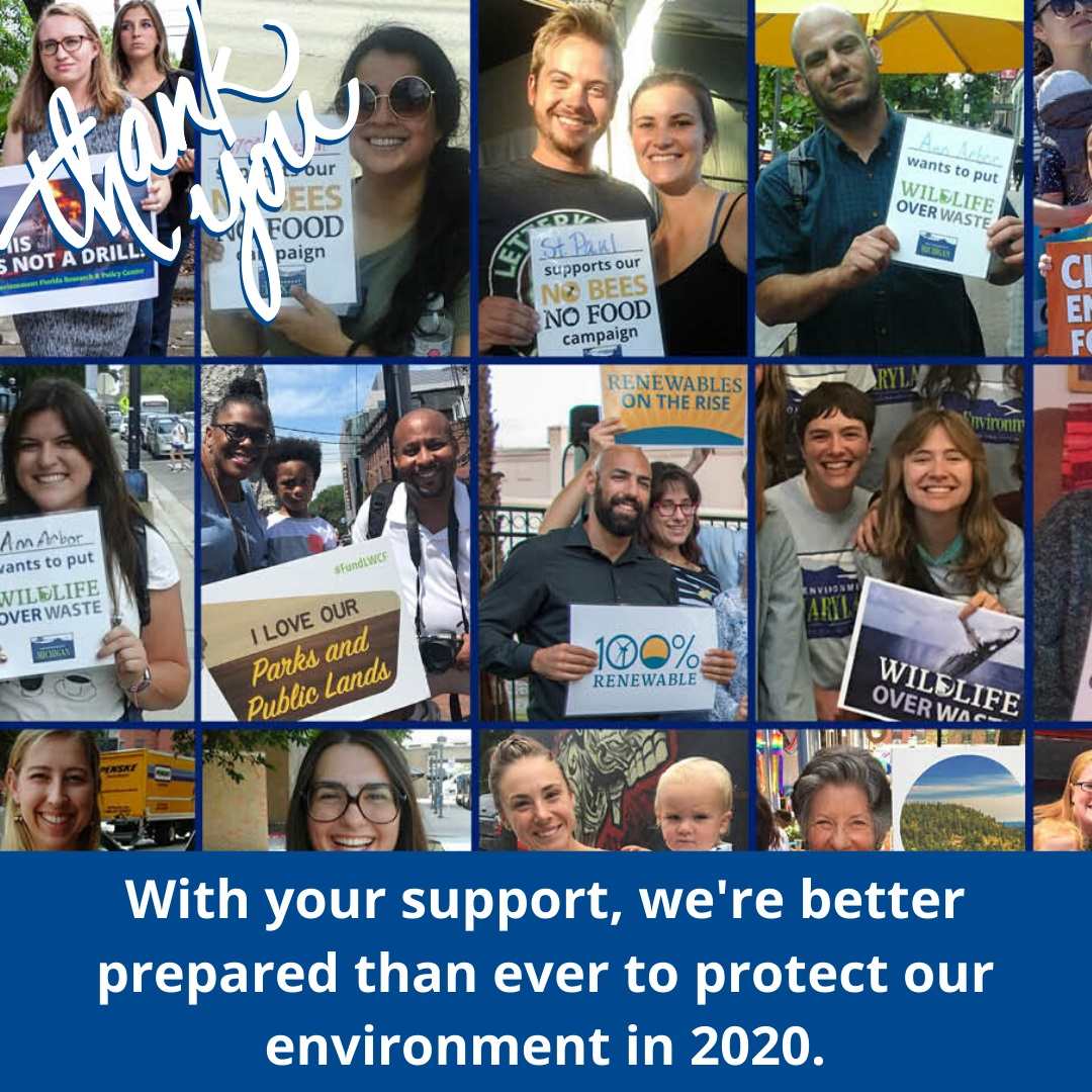 Environment America supporters