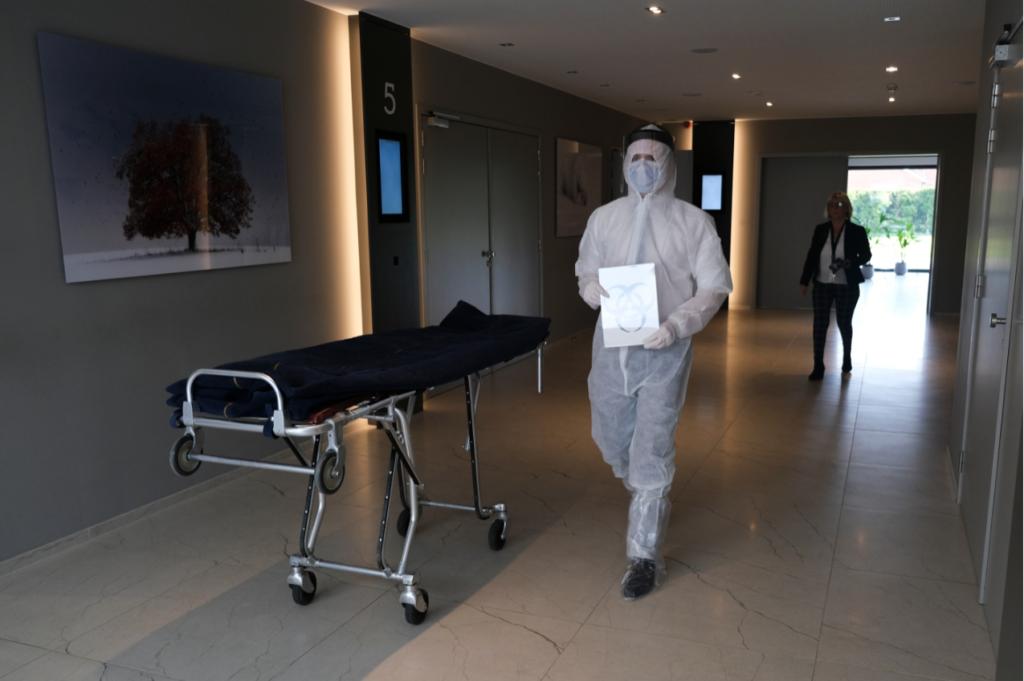 Woran erkennt man eine Pandemie? Wenn Bestatter in Kurzarbeit sind!