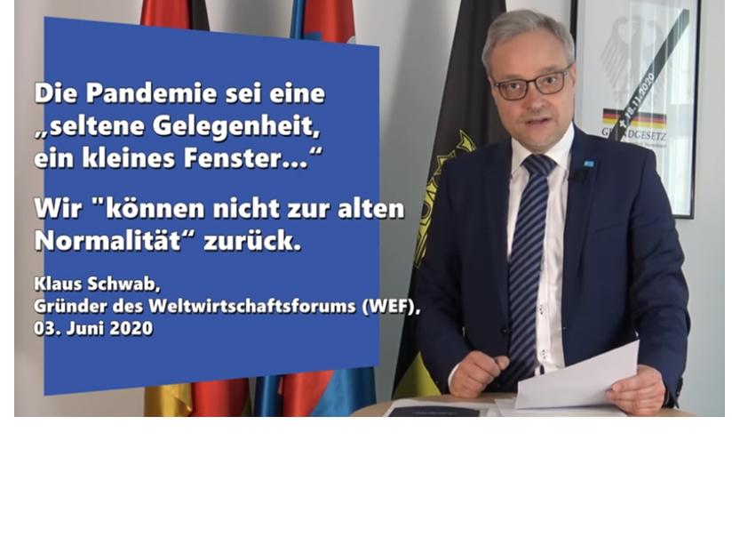 """Marc Bernhard (AfD): """"The Great Reset"""" oder: Die große Enteignung – Video+Transkript"""