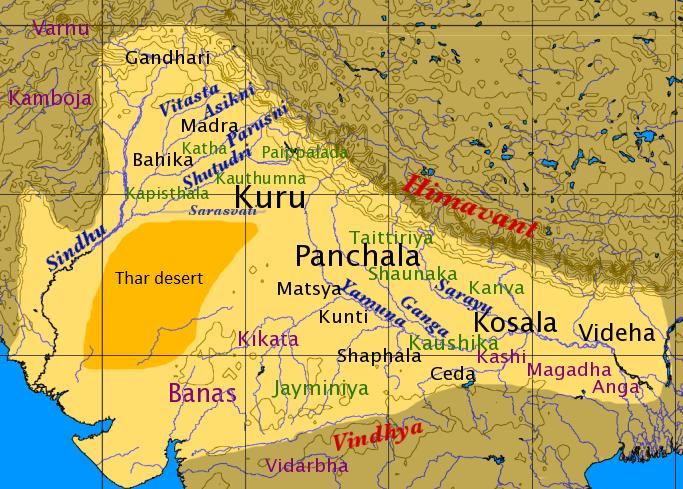 Kuru & Panchala Kingdoms