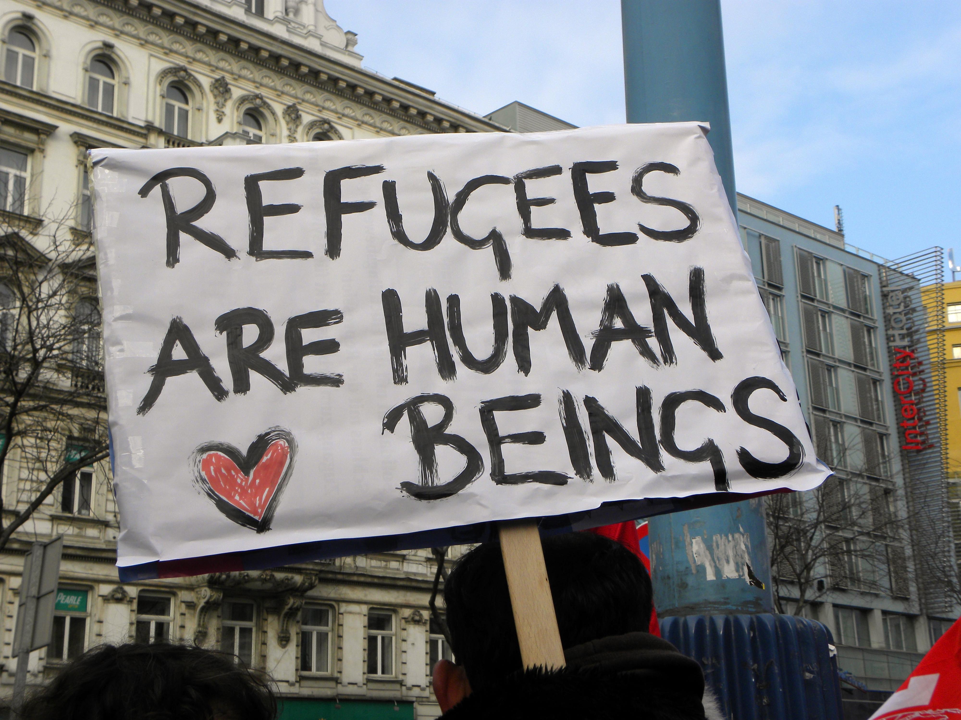 Refugees Sign