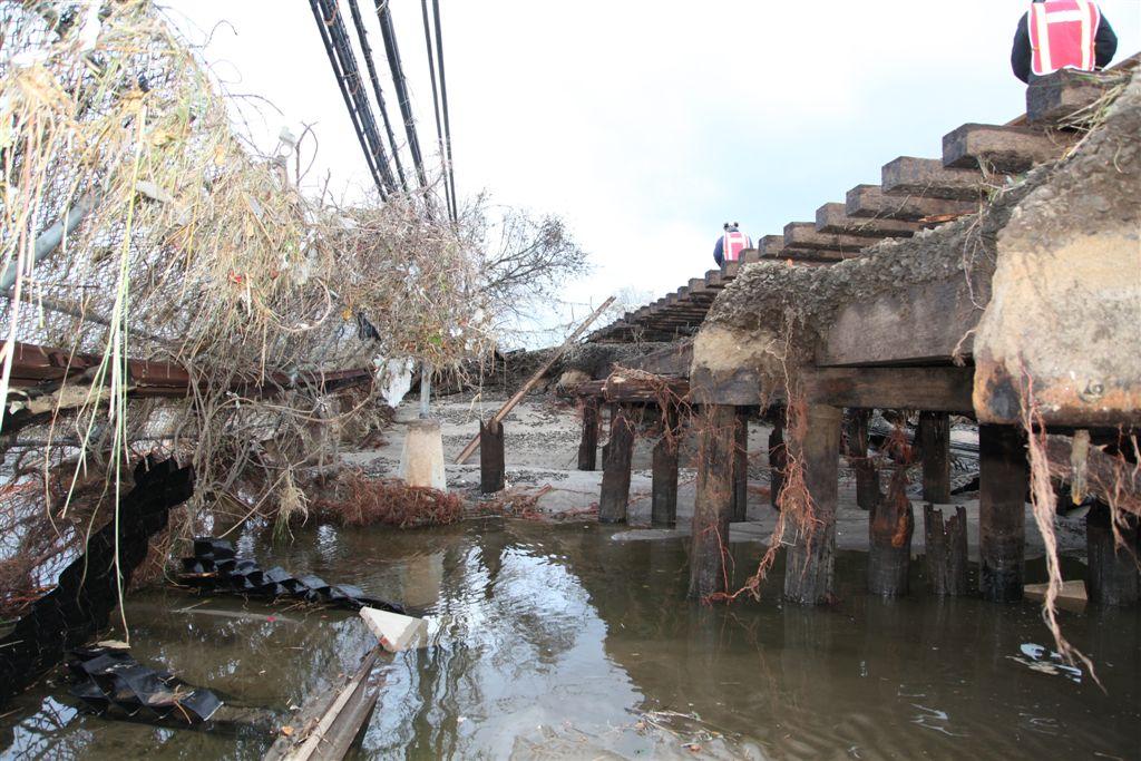 Flooded NY Line